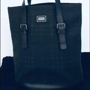 "BURBERRY Shoulder Bag Tote Purse - 14""x11"""